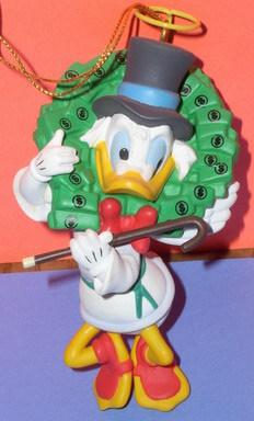 Disney Uncle Scrooge Angel Figurine Ornament
