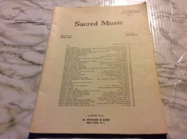 Sacred Music Cecil Bentz All Organ No 22 MPH Series Sheet Music  - $5.13