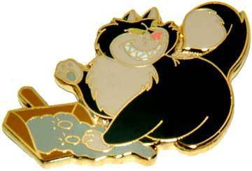 Disney  Villain WDCC  Cinderella Lucifer Event Pin/Pins