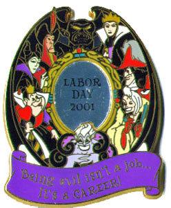 Disney Villains Maleficent Evil Queen Ursula Pin/Pins