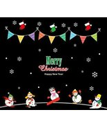 Blancho Bedding Christmas Decoration Home/Shop/Window Sticker Wall Stick... - $17.63