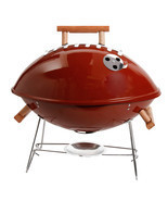Gibson Home Football BBQ 18 Grill in Brown - ₨5,856.46 INR
