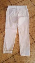 J Brand Jeans Women's Cropped  White Jeans sz 25 Denim  NICE!! #333 image 3