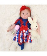 50cm Baby Reborn Doll With Clothes Silicone Vinyl Adorable Lifelike Baby... - $102.40