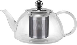 Premium Quality Stove Safe Glass Kettle with Stainless Steel Infuser  12... - $19.77