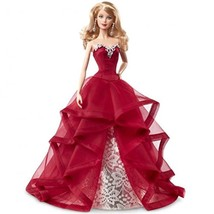 barbie collector 2015 holiday doll, blonde - $41.56