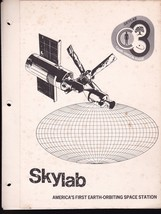 SKYLAB LAUNCH VINTAGE FOLDER 1973 - $6.78