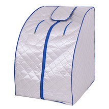 Portable Far Infrared Sauna with Chair-Silver - $212.32