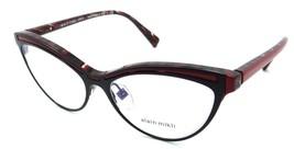 Alain Mikli Rx Eyeglasses Frames A03072 002 54-16-140 Matte Black / Red Italy - $117.60