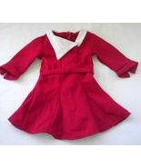 American Girl Doll Kit's Holiday Dress Red - $11.00