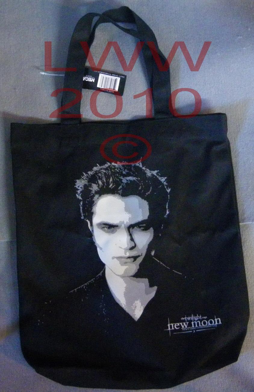Licensed Edward's Portrait Twilight New Moon Canvas Tote Bag Bonanza
