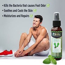 Foot Spray for Shoes and Smelly Feet Fast Odor Eliminator All Natural Re... - $29.99
