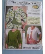The Charleston Duo Brensan Pattern - $14.95