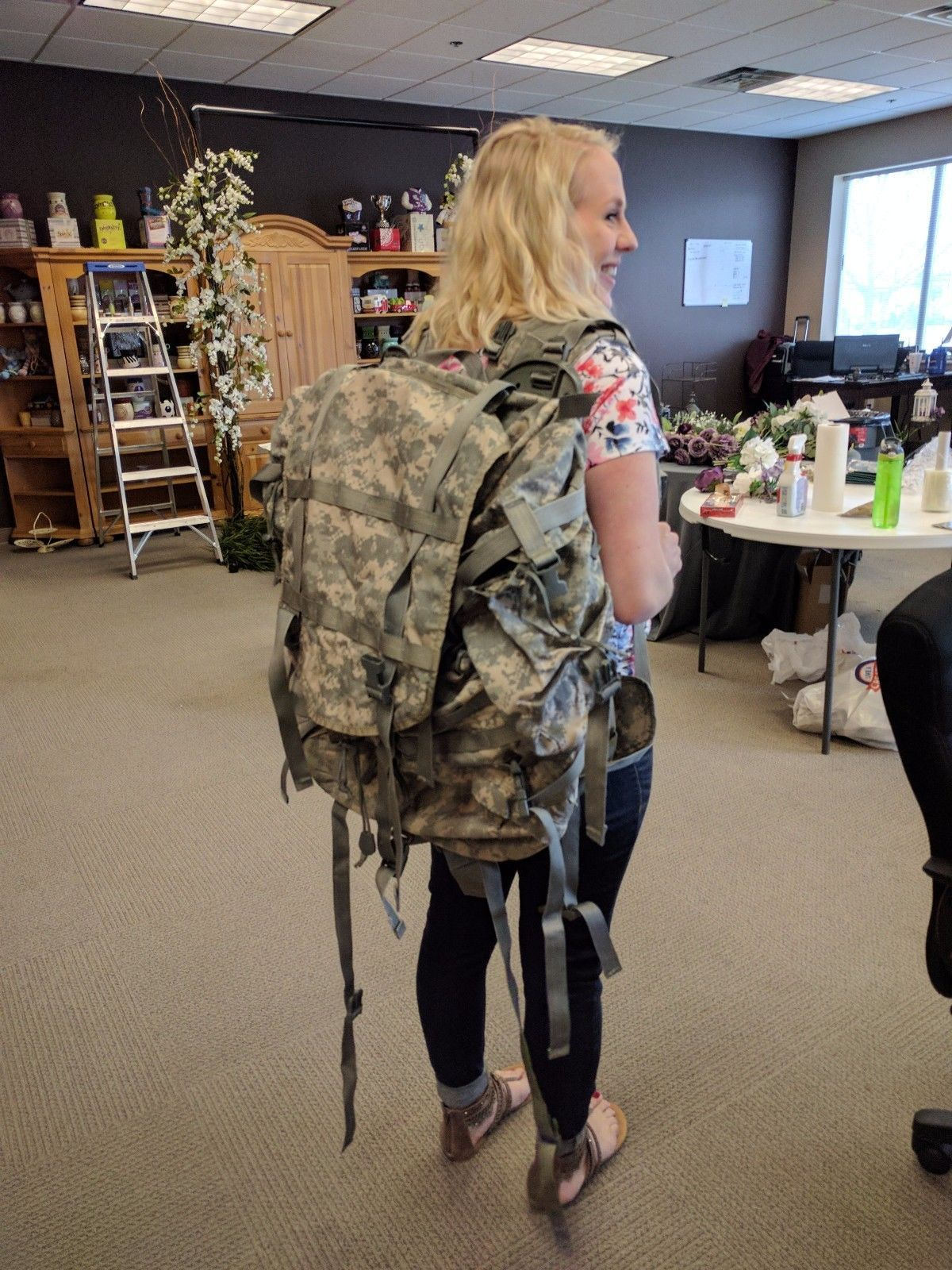 Molle II Large Rucksack w/ Frame and sustainment pouches - Free item w/ Purchase