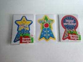 36 Reward Stickers Badges Super Student Great Job & HB Teacher Supplies ... - $7.72