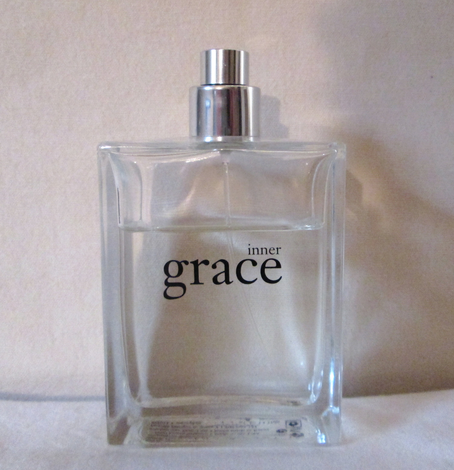 Vintage Philosophy INNER GRACE EDP 4 oz  Pre Coty, Disc, Used ~75% Full