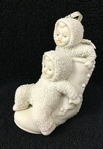 One Two High Button Shoe Department 56 Retired Christmas Snowbabies Orna... - $14.85