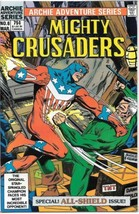 Adventures of The Mighty Crusaders Comic Book #6 Archie 1984 VERY FINE+ - $3.50