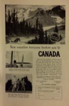 Vintage Advertisement - Canada Travel advertisement - 1948 - $6.99