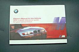 2001 bmw z3 m roadster coupe Owners Manual E36 parts 3 Series new origin... - $98.99