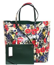 New Balenciaga Everyday Floral Lambskin Leather Animation Tote Bag - $1,323.00