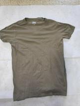 Israel Defense Forces IDF T-shirt Israeli Military Army Olive Green 100%... - $29.69