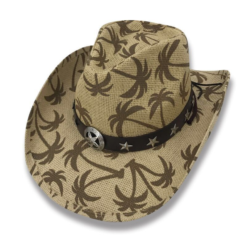 f47dad6f1fb Cowboy Cowgirl Hat Palm Trees Rodeo Western and 36 similar items
