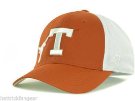 Texas Longhorns Top of the World  NCAA Trapped One Fit Cap Hat L/XL - $18.99
