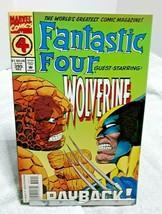 Fantastic Four Issue 395 December 1994 Guest Star Wolverine Marvel - $2.49