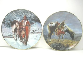 Hamilton Collection Winter of 41 & Perillo War Ponies of the Plains Nigh... - $27.69