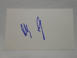 Bobby Jindal SIGNED 3x5 index card AUTOGRAPHED Governor Louisiana GOP - $29.65