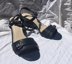 Cole Haan Navy Wedge Sandals - Women's Size 9.5 B - $29.99