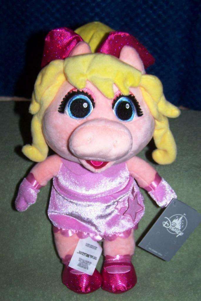 "Disney Muppet Babies MISS PIGGY Plush 13""H NWT - $17.50"
