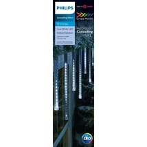 Philips Cascading Effect 12 Icicles Cool White LED Create Motion NEW - $47.99
