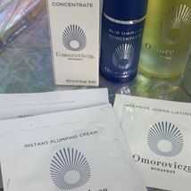Omorovicza Lot Neck + Rejuvenating Night Cream Firming Body Oil + Blue Diamond image 5