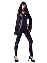 Halloween Women Sexy Witch Cosplay Costume Club Party Jumpsuit - $41.44