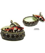Sea Turtle Jeweled Trinket Box with Austrian Crystals #2 - $39.95