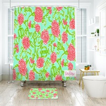 Flower Lilly Here is a hi res Shower Curtain Waterproof & Bath Mat For Bathroom - $15.30+