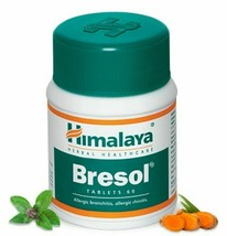 Himalaya Herbal Bresol 60 Tablets Ayurvedic Ayurveda Product - $14.84+