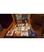 Lot of 13 pop cd's: Britney spears,  Christina Aguilera, Celine Dion, br... - $39.00