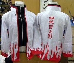 NARUTO HOKAGE 4 YONDAIME COSPLAY JACKET - $32.31