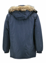 Men's Heavy Weight Winter Coat Removable Hood Puffer Parka Jacket w/ Defect  2XL image 2