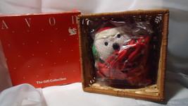Vintage Avon Holiday Mouse Basket - $5.99