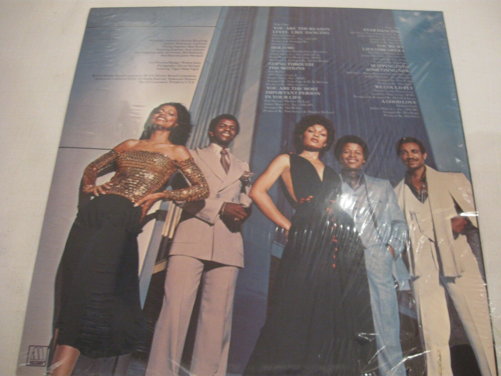 The Fifth Dimension Star Dancing Motown M7-896R Stereo Vinyl Record LP SEALED image 2
