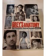 GREY'S ANATOMY - SEASON 2 - UNCUT (DVD) NEW FACTORY SEALED - $9.89