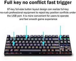 STOGA Mechanical Gaming Keyboard, Anti Ghosting USB Wired Gaming Keyboard with 8 image 4