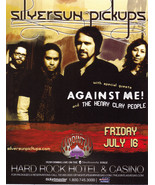 SILVERSUN PICKUPS w/ Guest AGAINST ME & The Henry Clay People - $1.95