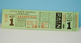 Little Rock Baseball Company Grandstand Ticket - $10.88