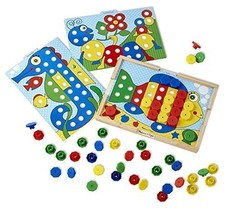 Melissa & Doug Sort and Snap Color Match - Sorting and Patterns Educatio... - $17.33