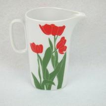 Block Langenthal Switzerland Henry Evans Floral Portraits Tulips 8oz Cre... - $36.99